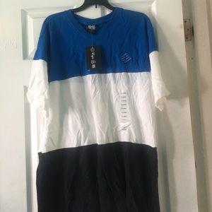 Men's ENYCE Blue, White and black Polo